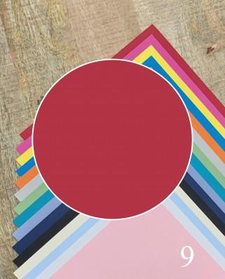 Papel Alta Calidad Rojo 09