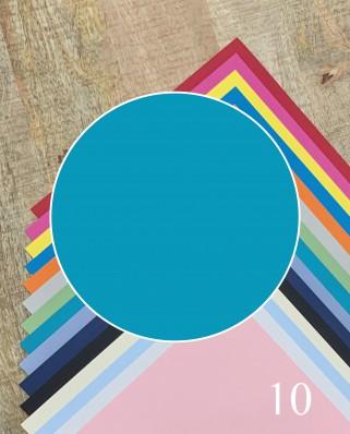 Papel Alta Calidad Azul 10