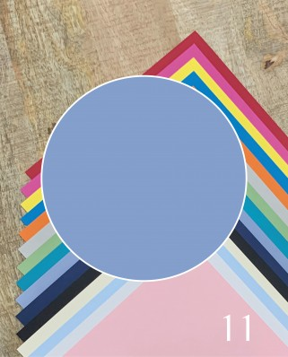Papel Alta Calidad Azul Claro 11