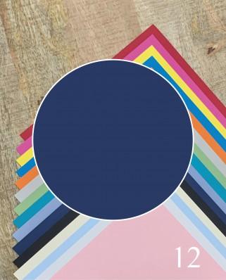 Papel Alta Calidad Azul Marino 12