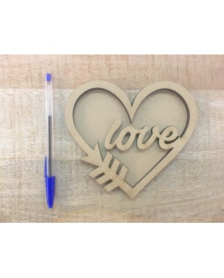 Shaker Corazon Love