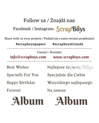 Flowers Story - Scrap Boys