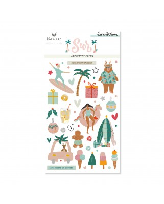 Puffy  Stickers SUR - Lora Bailora