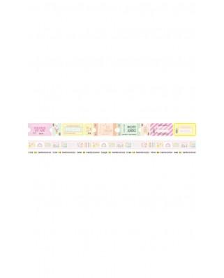 Washi tape - Miami Peach