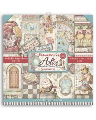 Colección Alice (Through the looking glass) 30,5x30,5 cm