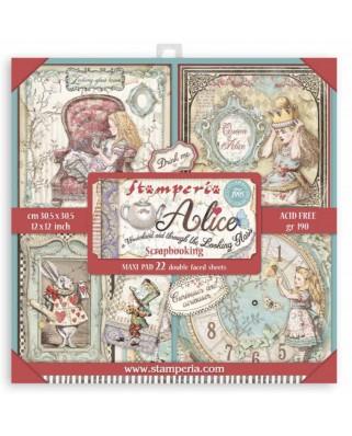 Colección Maxi Alice (Through the looking glass) 30,5x30,5 cm