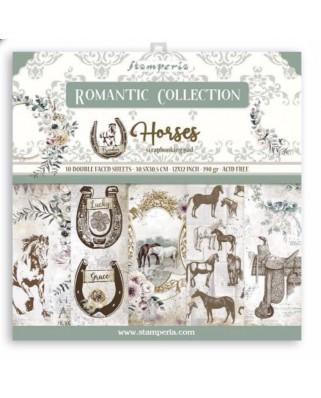 Colección Romantic Horses 30,5x30,5 cm