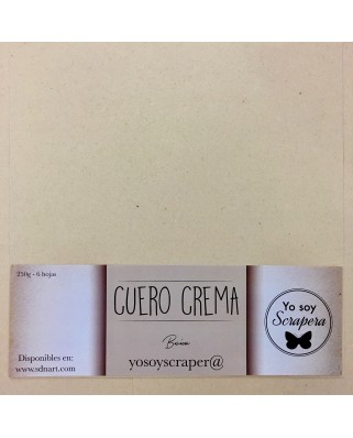 Cuero Crema
